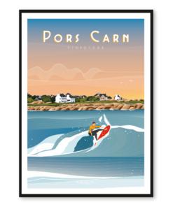 Affiche PORS CARN - Penmarc'h