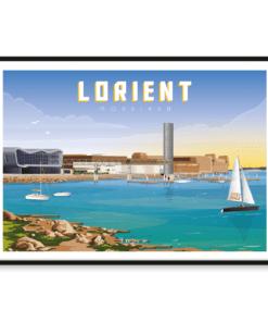 Affiche Lorient - Morbihan