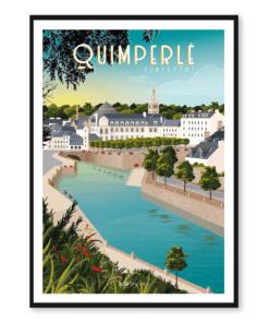 Affiche Quimperlé