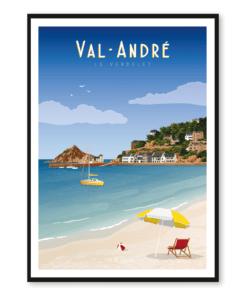Affiche Val André
